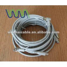 75OHM Gas inyección de PE de banda ancha RG6 TV CABLE WM0049D