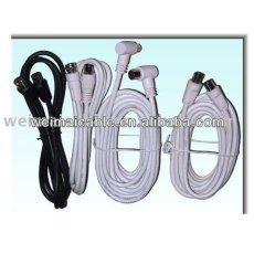Cable de teléfono con F conector WM883M coaxial Cable