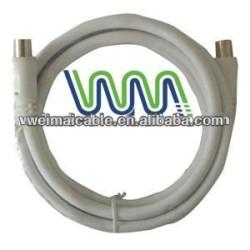 Cable de teléfono con F conector WM881M coaxial Cable