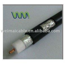 الكابلات المحورية rg540( ريال قطري. 540. jca) tv kabl 6124 المصنوعة في الصين
