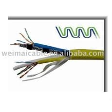 Cable Coaxial RG6 RG7 RG59 RG11 75OHM comunicación para la TV