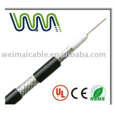 Cable Coaxial RG serie 75ohm comunicación para la TV 01