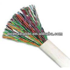 Cat3 Lan Cable / teléfono WM0408M Lan Cable