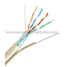 لان الكابل ftp مع رسول cat5e 5519 المصنوعة في الصين