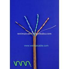 Cat5e LAN CABLE CABLE de ordenador made in china 6459
