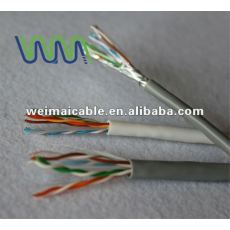 Ul estándar UTP / FTP / SFTP CAT5e LAN CABLE WM1174D