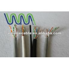 Ul estándar UTP / FTP / SFTP CAT5e LAN CABLE WM1181D