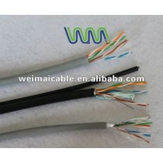 Ul estándar UTP / FTP / SFTP CAT5e LAN CABLE WM1160D