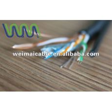 Ul estándar UTP / FTP / SFTP CAT5e LAN CABLE WM1180D