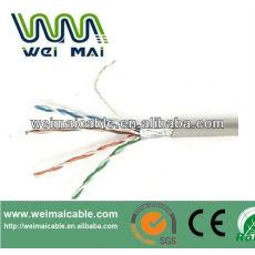 Ftp de Cable cableado FTP CAT5E Cable 2 * 0.75 mm 2 FTP CAT5E 2DC Cable WMM2096