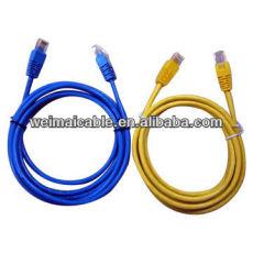 La mejor calidad UTP / FTP CAT5e LAN CABLE CABLE de ordenador WM0455M LAN CABLE
