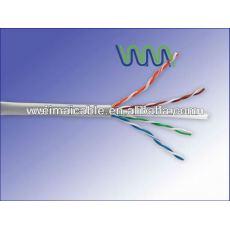 La mejor calidad UTP / FTP CAT5e LAN CABLE CABLE de ordenador WM0461M LAN CABLE