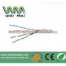De China Linan 0.51 mm conductor de cobre cat5e utp lan cable WMM2077