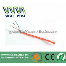 De China Linan 0.51 mm conductor de cobre cat5e utp lan cable WMM2079