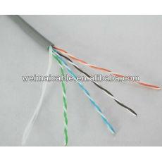 La mejor calidad UTP / FTP CAT5e LAN CABLE CABLE de ordenador WM0452M LAN CABLE