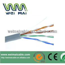 Ftp CAT5E lan Cable 2 * 0.75 mm 2 FTP CAT5E 2DC Cable WMM2083