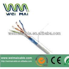 Ftp CAT5E Cable 2 * 0.75 mm 2 FTP CAT5E 2DC Cable WMM2089