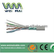 Ftp de Cable cableado FTP CAT5E Cable 2 * 0.75 mm 2 FTP CAT5E 2DC Cable WMM2093