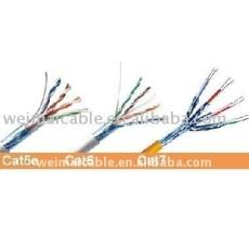 Utp / FTP / STP CAT5E CAT6A red de conexión CAT 5E CAT6 CAT7 CABLE UTP band T568A TRj45 plug 8p8c 24 / 26 / 28 / 30AWG fabricante