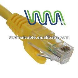 WM0019D UTP / FTP / STP CAT5E CAT6A CAT7 شبكة CONNECT CAT 5E CAT6 CAT7 كبل UTP TAA الصانع 24/26/28/30AWG 8P8C