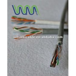 لان الكابل/ كابل الاتصالات/ utp الكابلات لان cat5e wm1164d مع موافقة ul