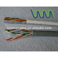 Lan cable / cable de comunicación / UTP Cat5e lan cable con aprobación UL WM0091D