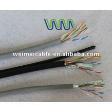 Oferta CE 0.56 mm de cobre puro Cat6 UTP lan cable WM0102D