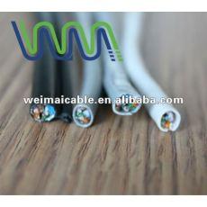 Lan cable / cable de comunicación / UTP Cat5e lan cable con aprobación UL WM0110D