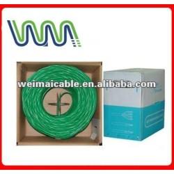 تقدم ce 0.56mm النحاس النقي cat6 wm0264d rj11 لان الكابل utp كابل الشبكة المحلية