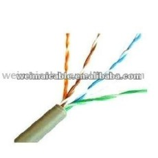 Oferta CE 0.56 mm de cobre puro Cat6 UTP lan cable WM0263D rj11 lan cable