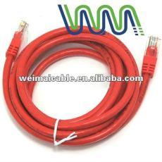 تقدم CE 0.56mm الصرفة النحاس CAT6 UTP كابل الشبكة المحلية WM00978D