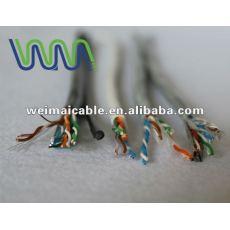 Oferta CE 0.56 mm de cobre puro Cat6 UTP lan cable WM0097D