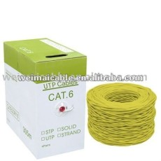 Lan CAT6 Cable de red de alambre WM0119M Lan Cable