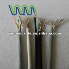 Lan cable / cable de comunicación / UTP Cat5e lan cable con aprobación UL WM0059D