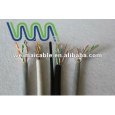 لان الكابل/ كابل الاتصالات/ utp الكابلات لان cat5e wm0060d مع موافقة ul