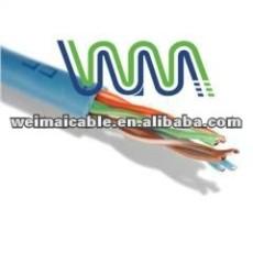 WM0018D UTP / FTP / STP CAT5E CAT6A CAT7 شبكة CONNECT CAT 5E CAT6 CAT7 كبل UTP TAA الصانع 24/26/28/30AWG 8P8C
