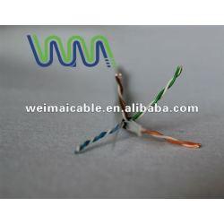 لان الكابل cat6 رمز اللون/ wm0249m كابلات الكمبيوتر المصنوعة في الصين