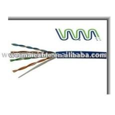 Lan Cable 2 par CAT6 red de alambre WM0267M Lan Cable
