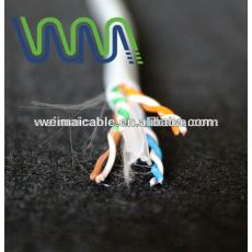 Lan cable cat6 UTP 23awg / 24awg WM0353M ftp cat6 lan cable