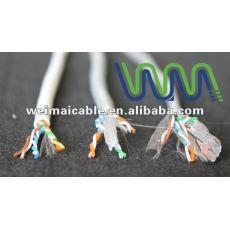 Oferta CE 0.56 mm de cobre puro Cat6 UTP lan cable WM0054M lan cable