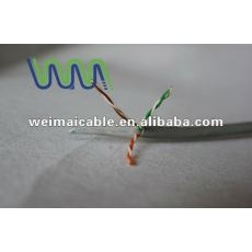Oferta CE 0.56 mm de cobre puro Cat6 UTP lan cable WM0239D