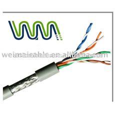 WM0150D LAN كابل / اتصال كابل / UTP كابل الشبكة المحلية Cat5e مع موافقة UL