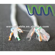 WM0137D LAN كابل / اتصال كابل / UTP كابل الشبكة المحلية Cat5e مع موافقة UL