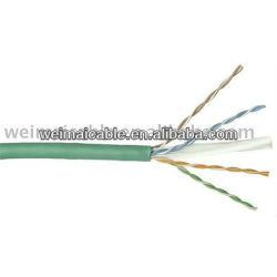 لان الكابل cat6 رمز اللون/ wm0437m كابلات الكمبيوتر المصنوعة في الصين