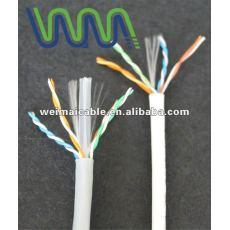 Lan cable / cable de comunicación / UTP Cat5e lan cable con aprobación UL WM0122D