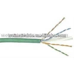 لان الكابل utp cat6 23awg/24awg wm0215m