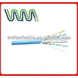 UTP CAT6 الكابل LAN 23awg/24awg WM0240M