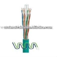 Cat6 código de COLOR LAN CABLE / CABLE de la computadora made in china WM0241M