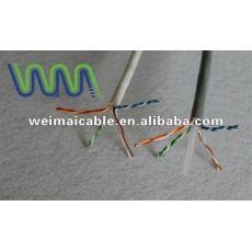Lan cable / cable de comunicación / UTP Cat5e lan cable con aprobación UL WM0051D