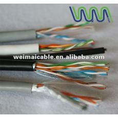 تقدم ce 0.56mm النحاس النقي cat6 wm0050d utp كابل الشبكة المحلية